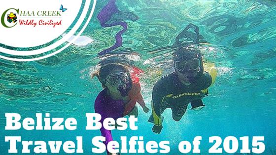Belize Travel Selfie