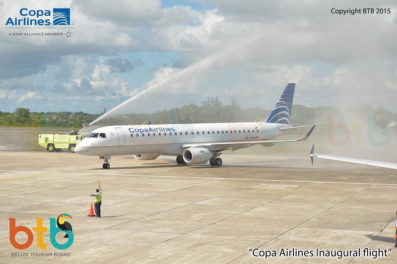 copa-airlines-inagural-belize-flight-btb-1