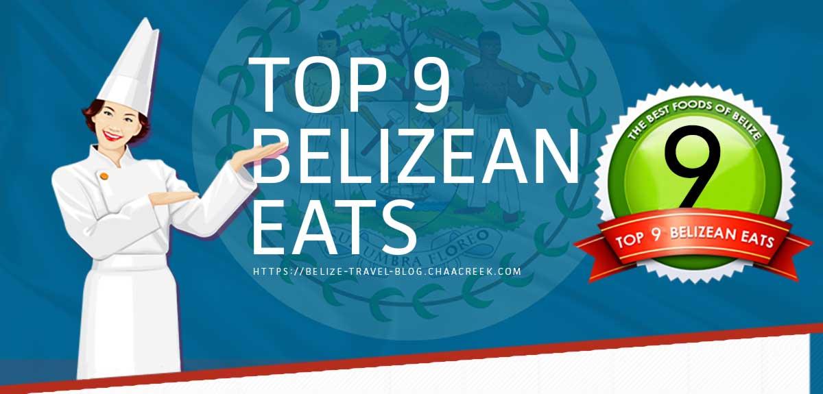 Belize Food Infographic Header