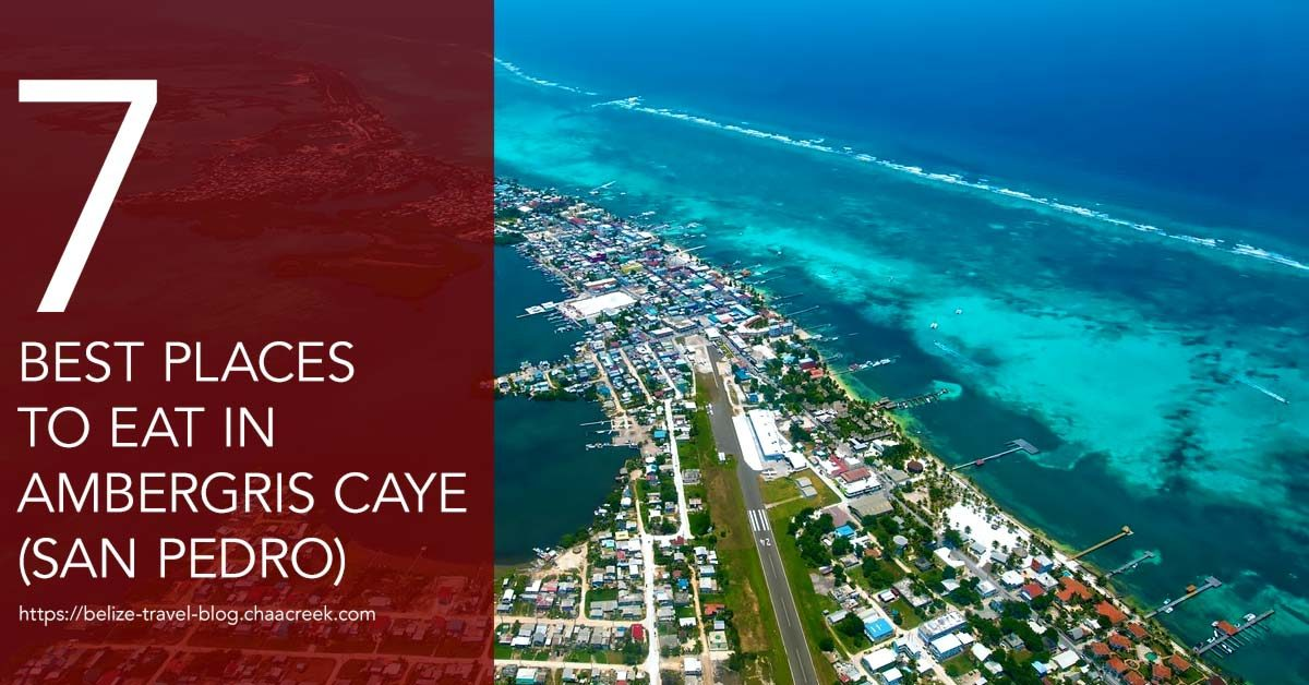 San Pedro Belize Restaurants 7 You Should Try 2017