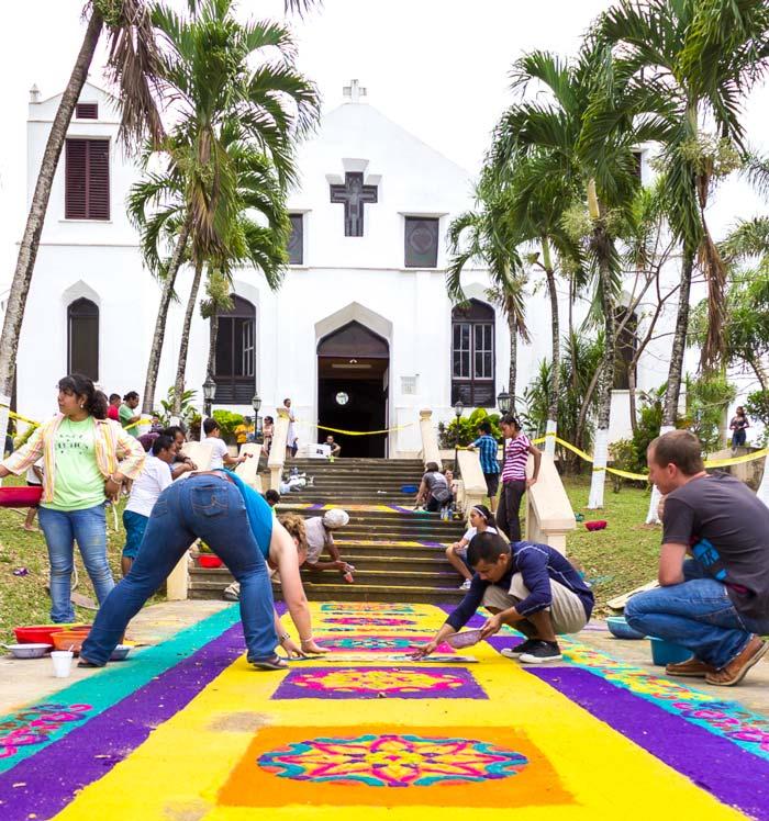 easter-in-belize-alfombras-in-benque-viejo-del-carmen-2