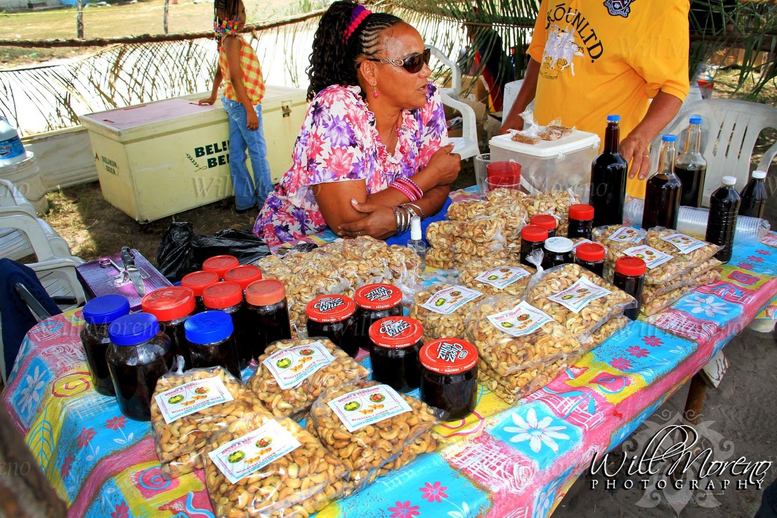 Belize-Crooked-Tree-Village-Cashew-Festival-2013-Vendor