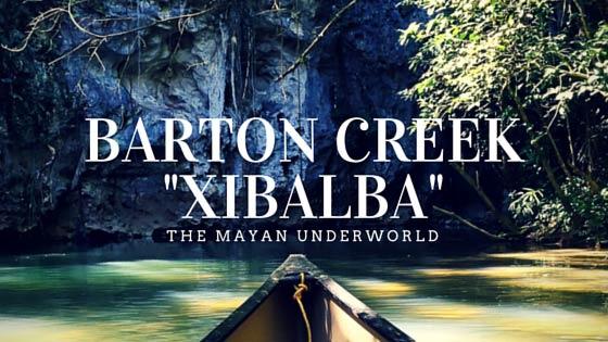 Barton Creek Belize Cave Tubing