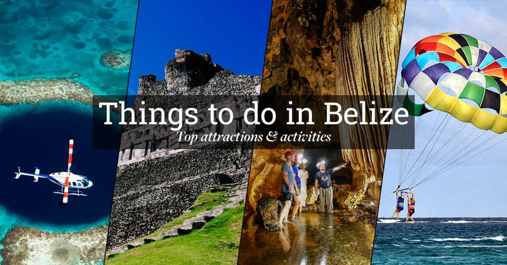 Things to do in Belize Top Attractions and Activities – Belize Tourist Map