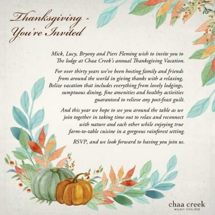 belize_thanksgiving_vacation_package_2016_chaa_creek_invitation