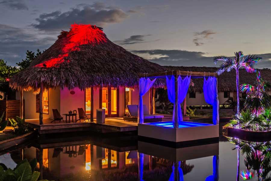 San Pedro Belize Hotels El Secreto Beach Resort Chaa Creek Travel Guide