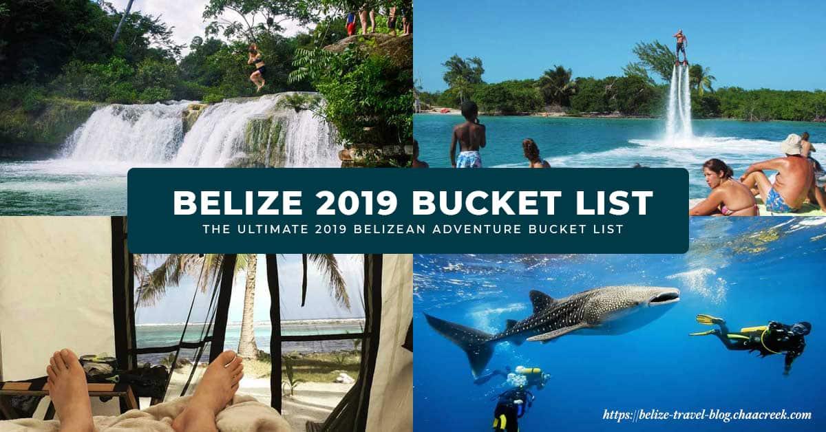 Belize 2019 Bucket List Adventures Main Photo