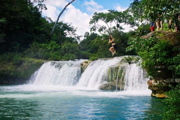 belize_bucket_list_activities_adentures_waterfalls_jump