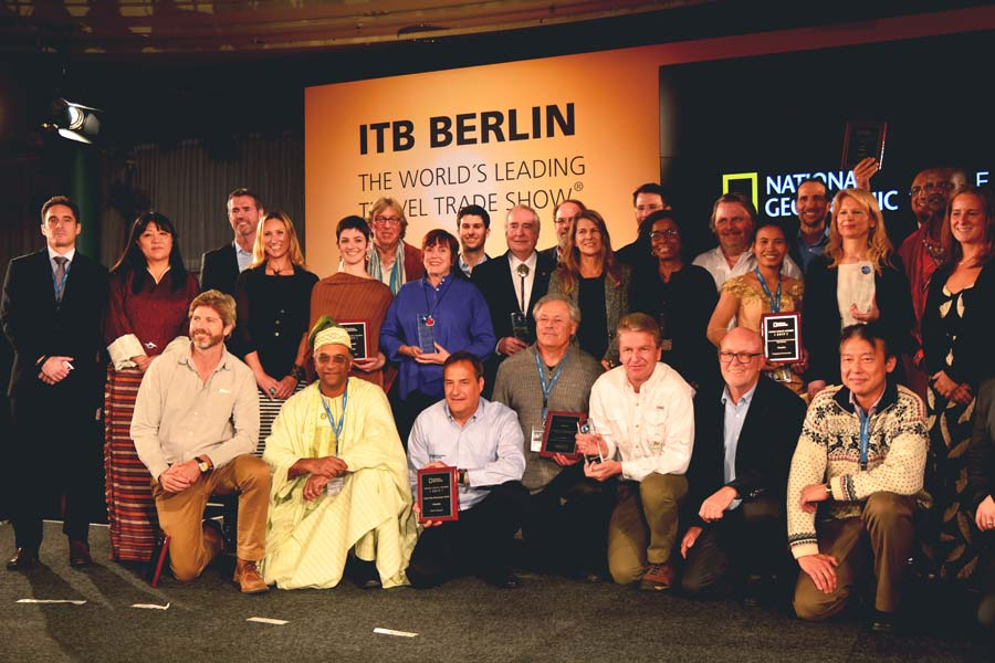 National Geographic World Legacy Awards 2017 Winners Group Photo