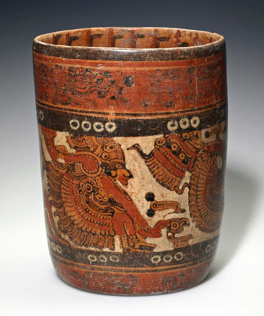 Belize Mayan Chocolate Vessel