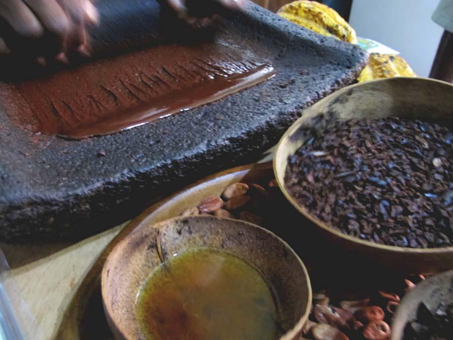 Mayan food chocolate