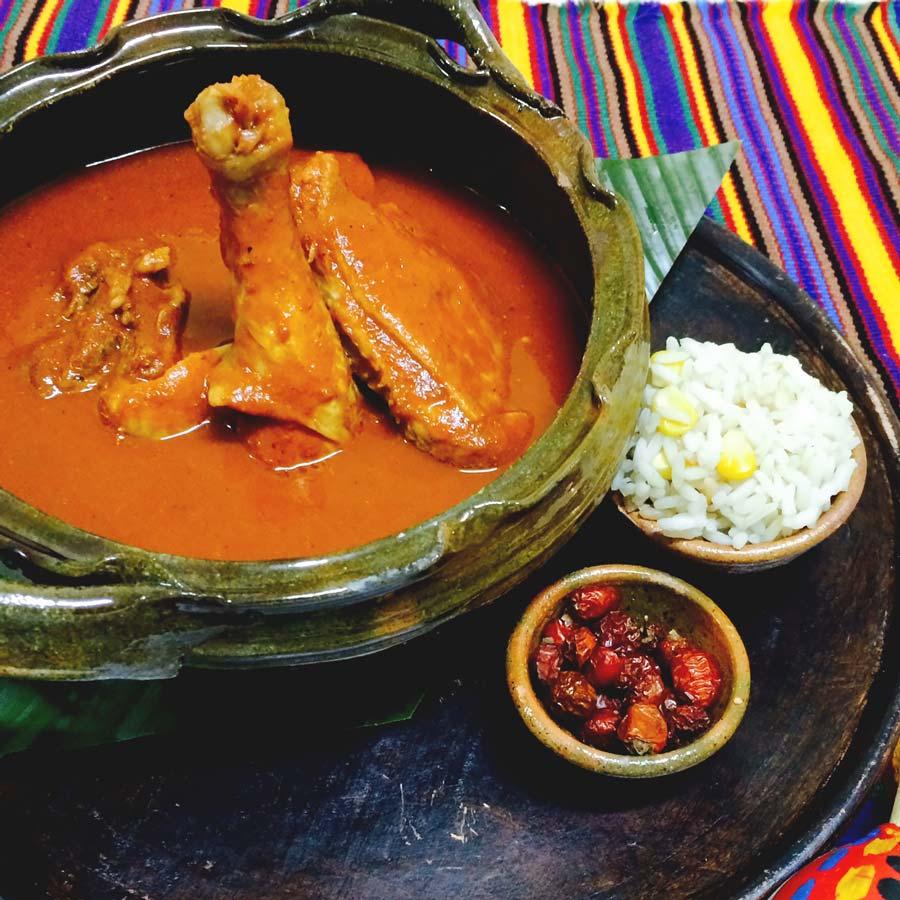 Mayan food subanik