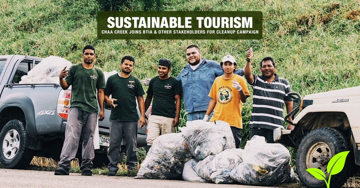 belize sustainable tourism cleanup campaign header