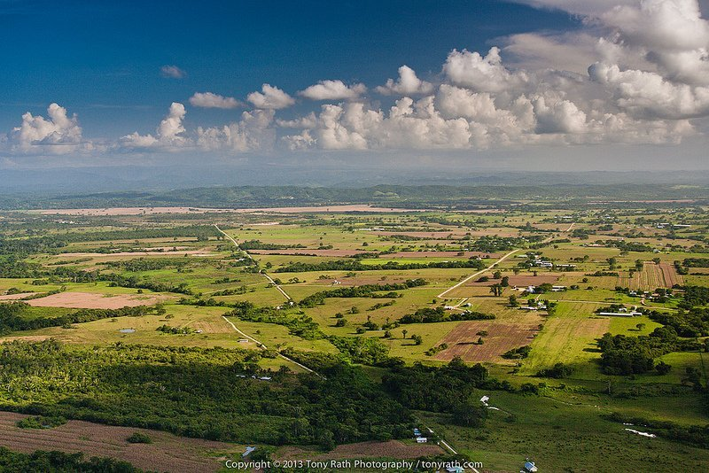 Spanish lookout belize aerial