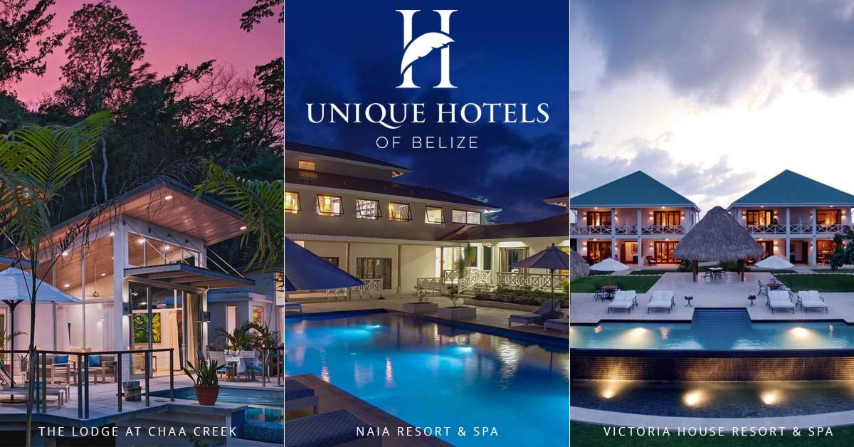 Unique Hotels of Belize launch Package chaa creek