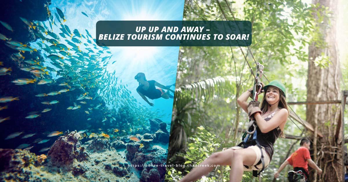 Belize tourism soars