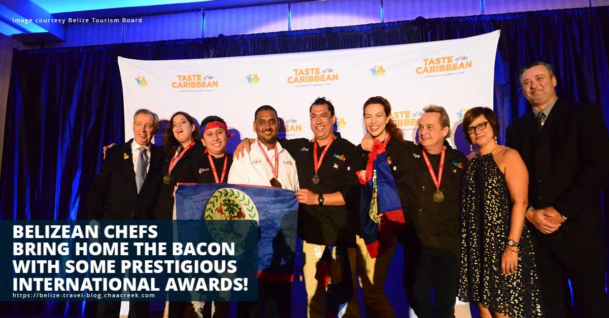 Belizean chefs win silver at Taste of the Caribbean competition