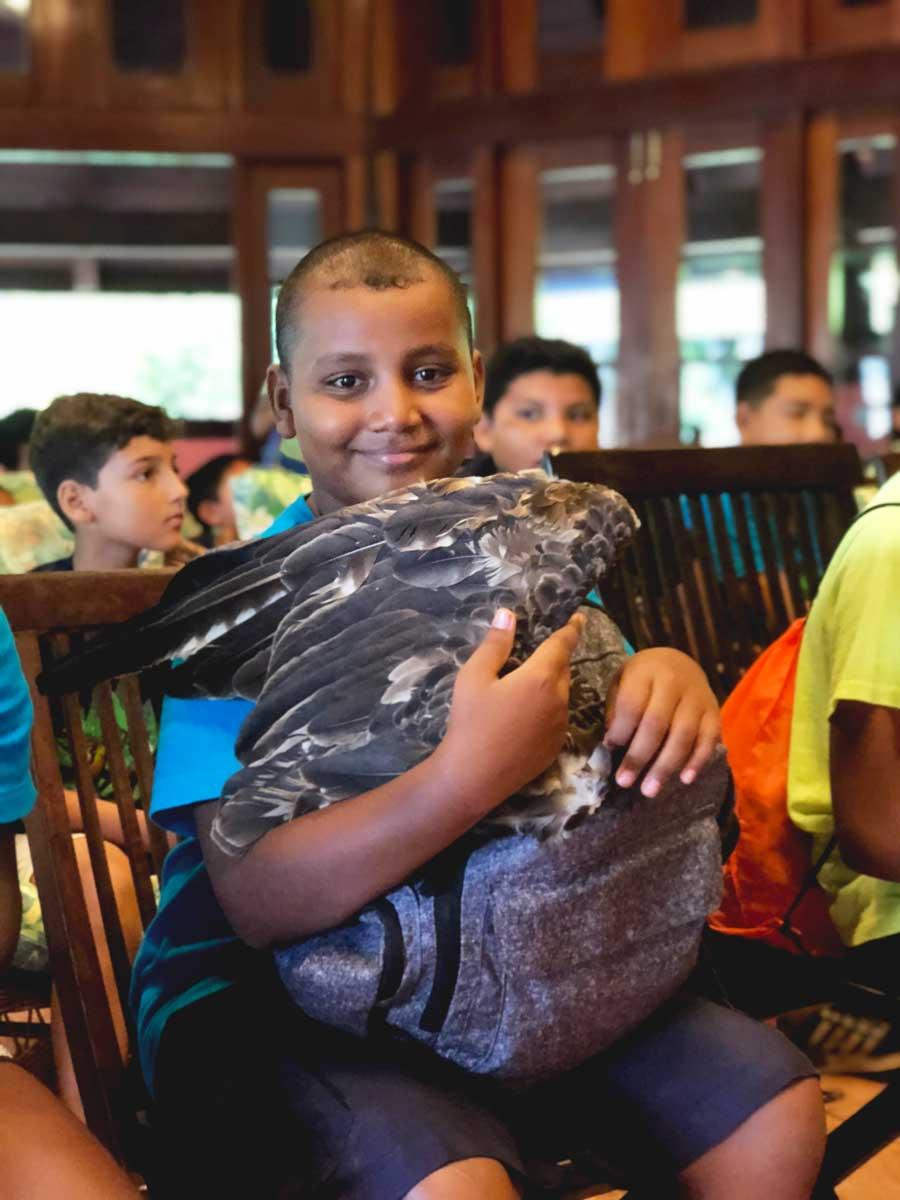 eco kids camp 2017 day belize wildlife birds