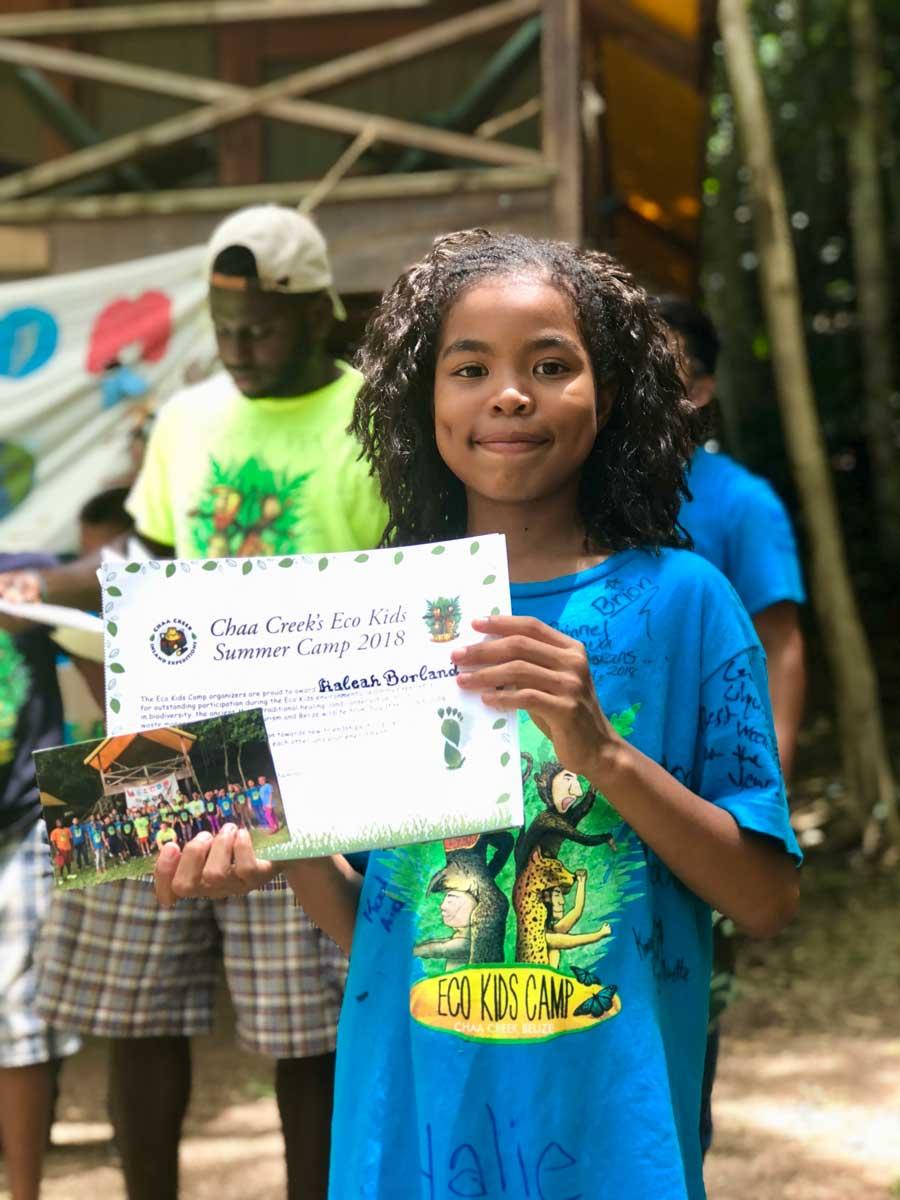eco kids summer camp 2018 camper