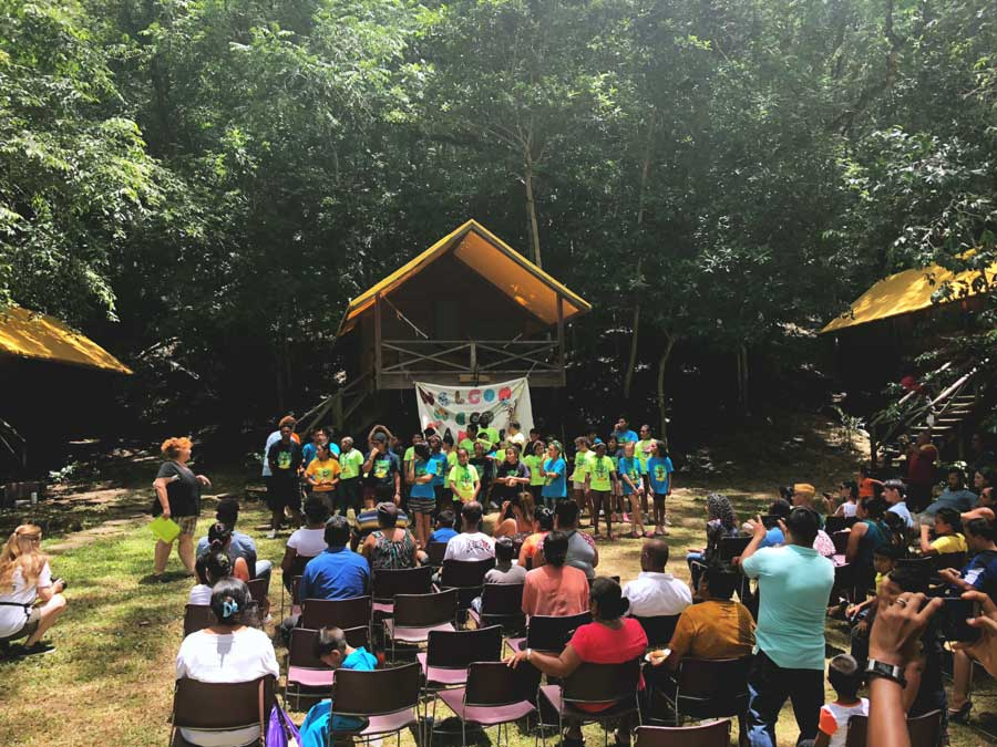 eco kids summer camp 2018 day 7 group shot