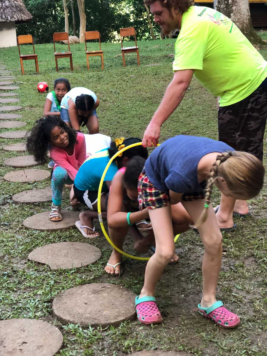 eco kids summer camp 2018 day 7 obstacle