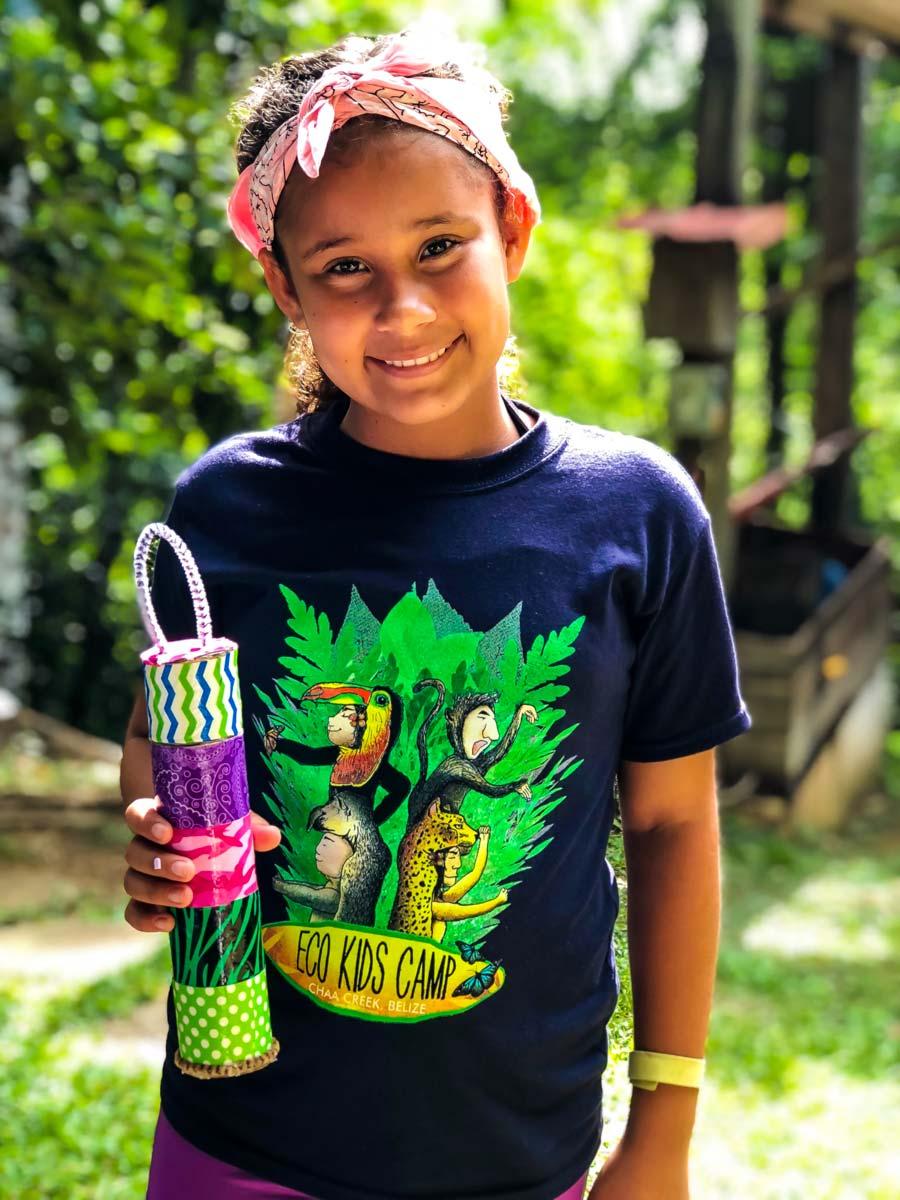 Eco Kids Summer Camp 2018 Day 3 arts crafts