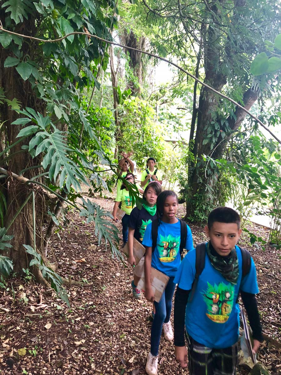 Eco kids summer camp 2018 day 4 hike