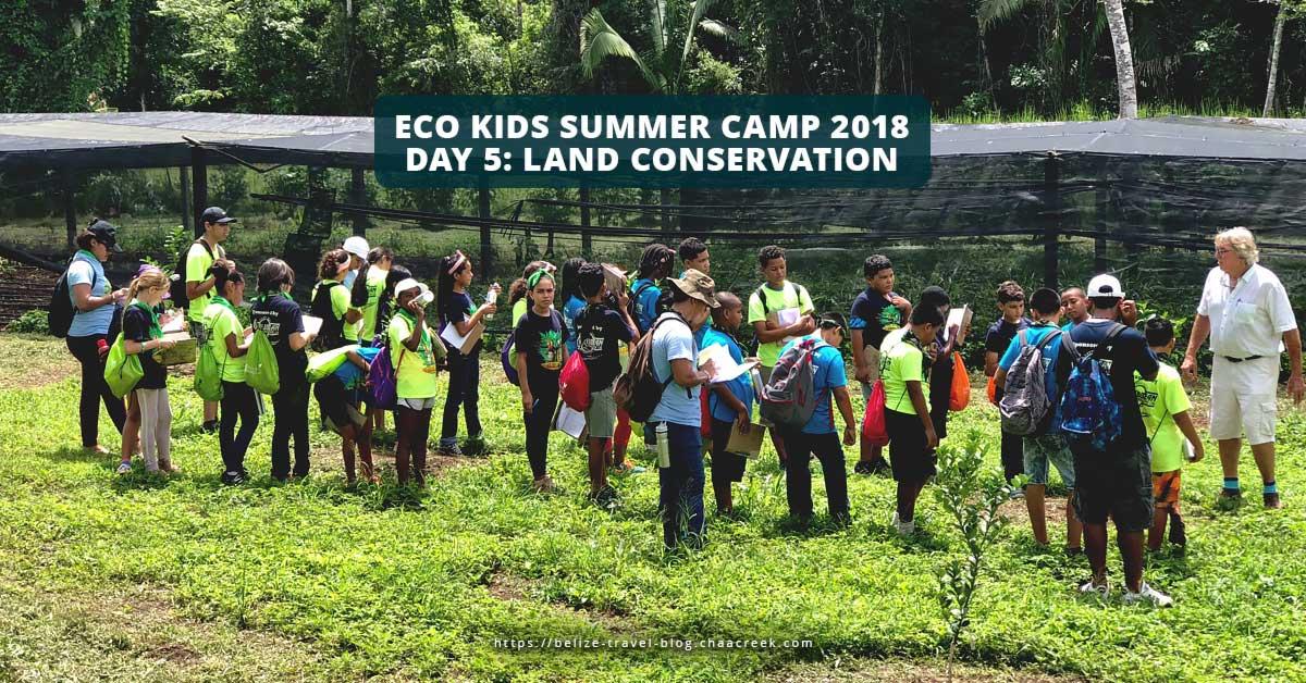 Eco Kids Summer Camp 2018 Day 5 Conservation header