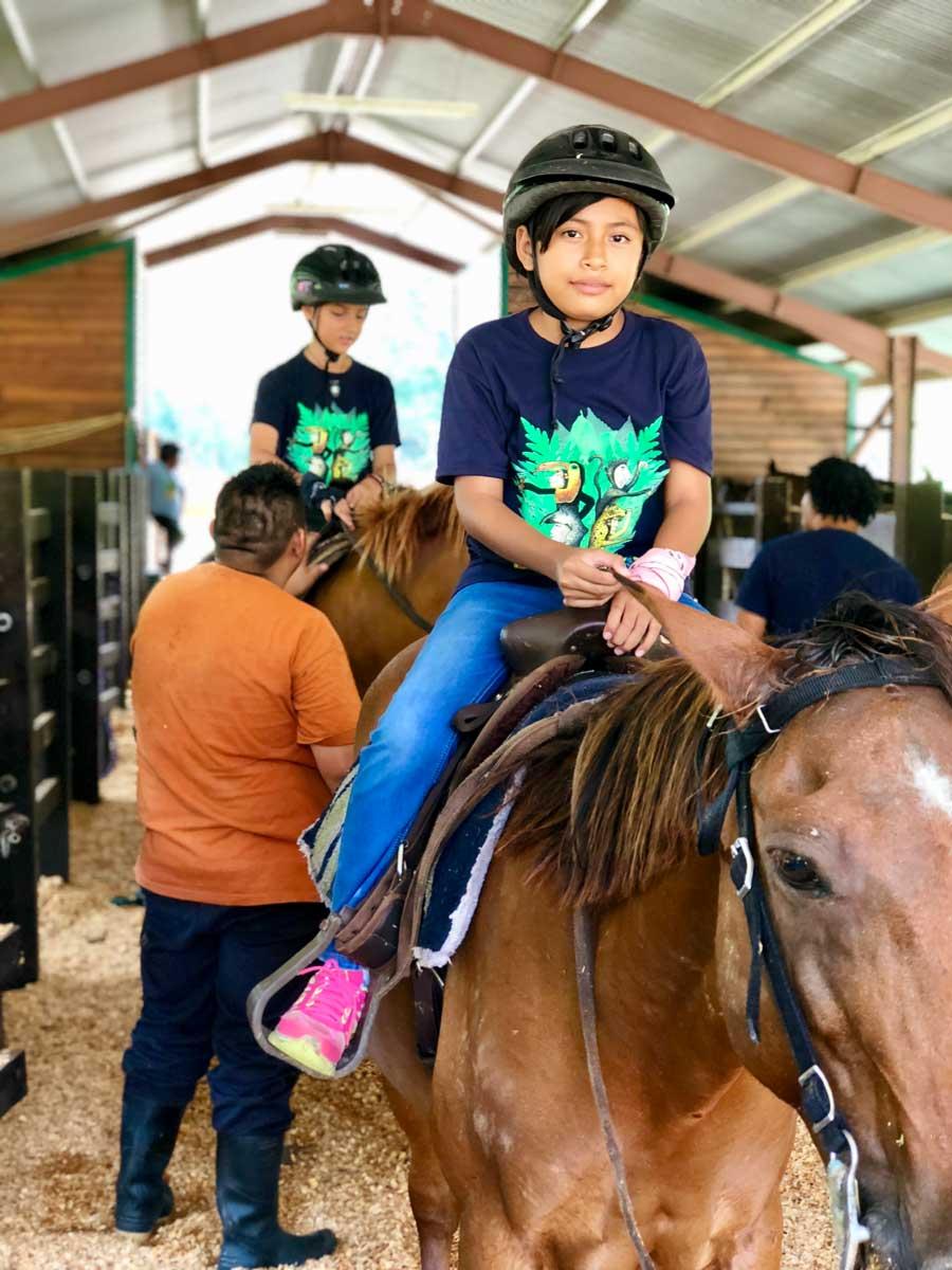 eco kids summer camp 2018 day 5 horseback riding