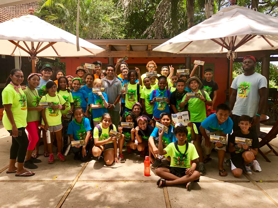 Eco kids summer camp 2018 conference patio chaa creek