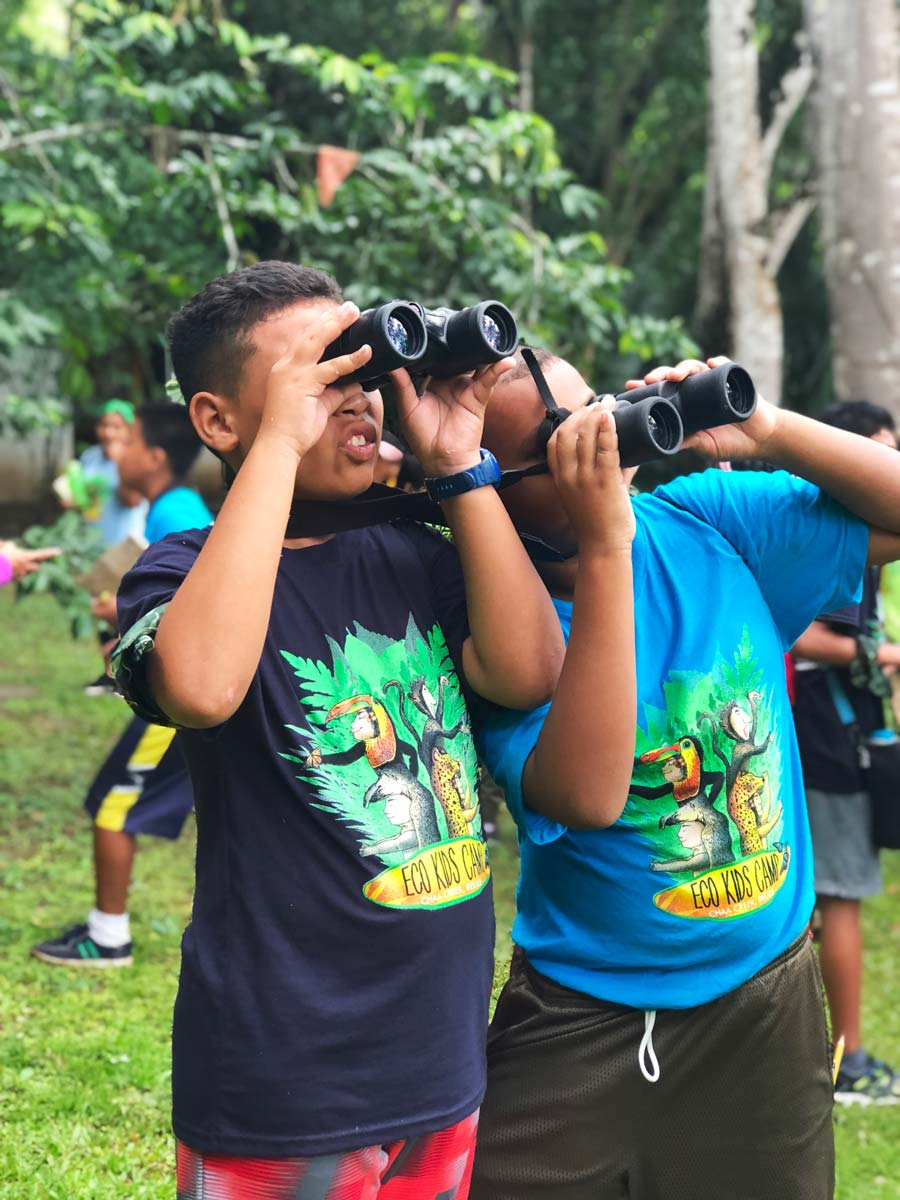 Eco Kids Summer Camp 2018 Day 2 birdwatching