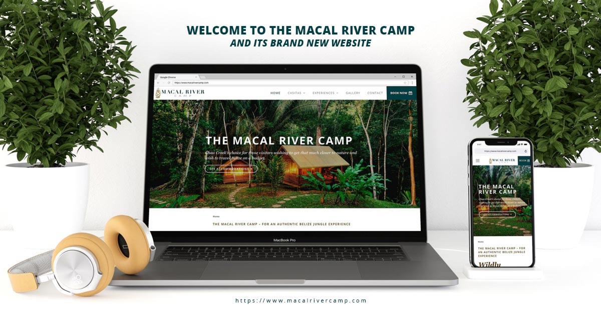 Macal River Camp Brand New Website