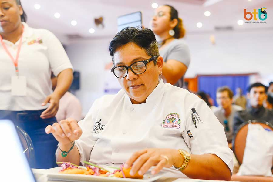 taste of Belize 2018 chef judge jennie