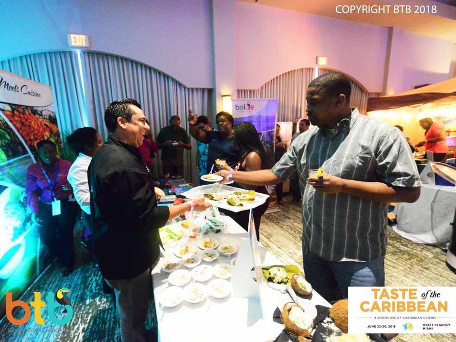 taste of the caribbean 2018 belize chefs sean kuylen