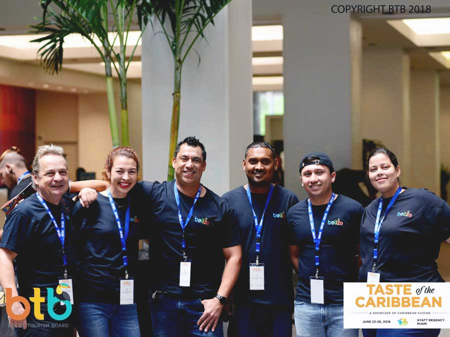 taste of the caribbean competition 2018 team Belize