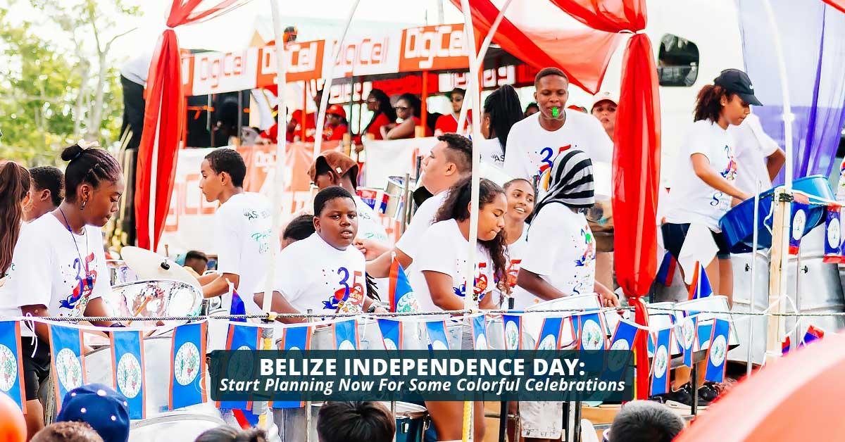 belize Independence Day 2018 header