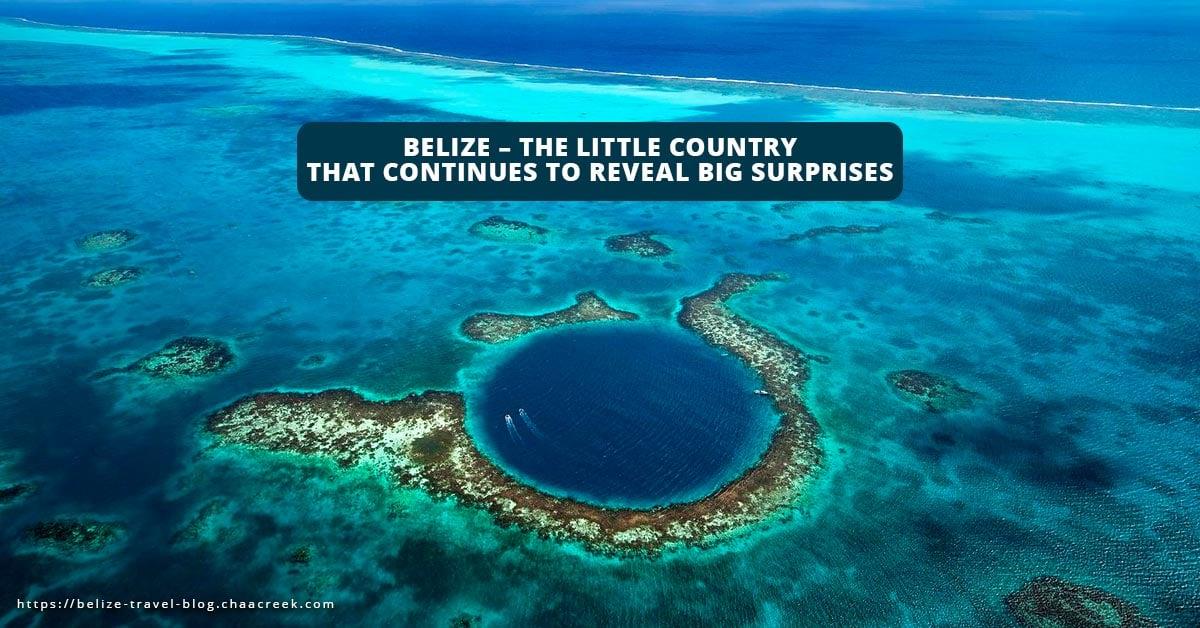 belize Richard Branson blue hole little country big surprises