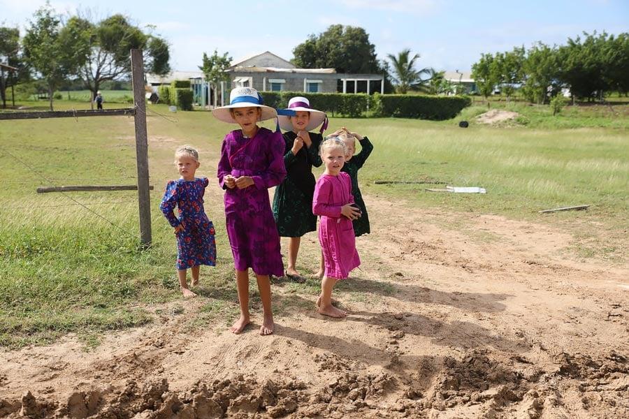 belize mennonite community highlighted children