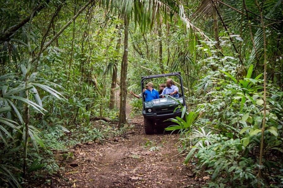 belize travel deal rtv safari tour shoulder season