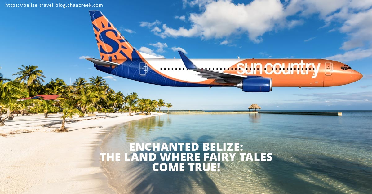 sun country airlines start direct flights to belize
