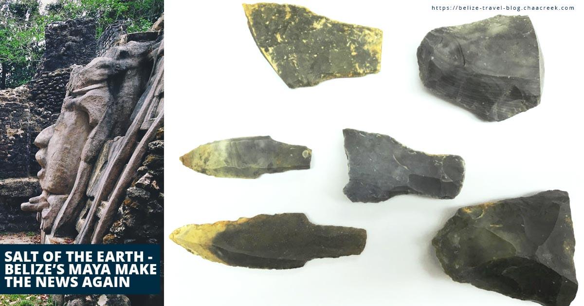 Salt Of The Earth - Belize's Maya Make The News Again