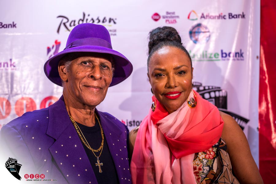 belize international film festical lord rhaburn and lynn whitfield