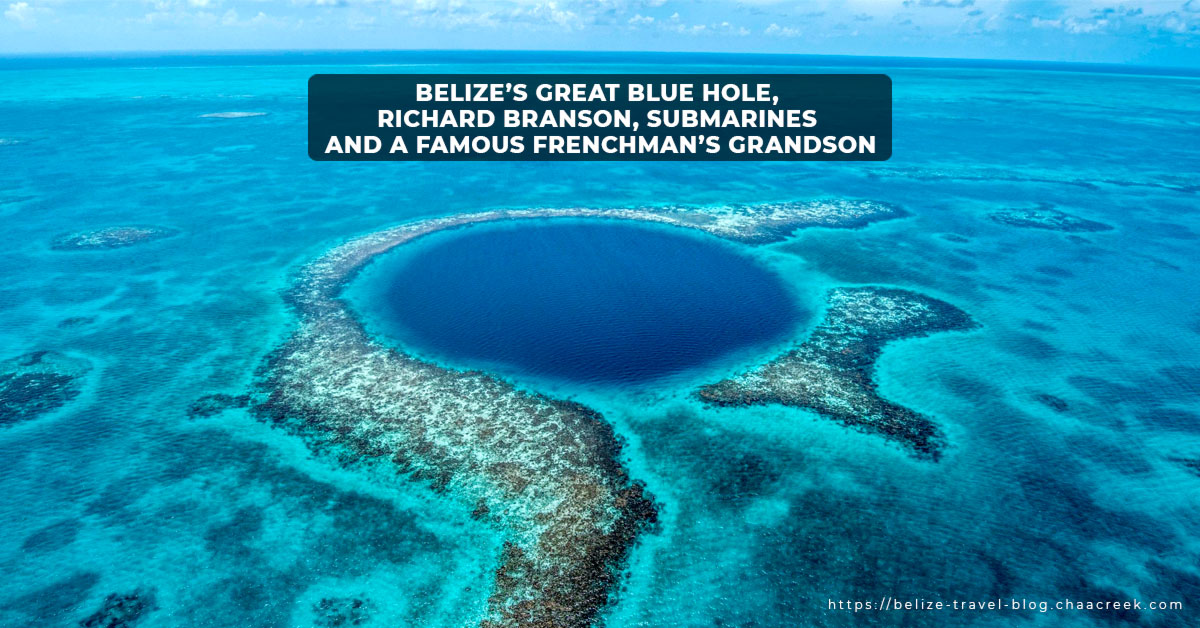 Belize Blue Hole Richard Branson Expedition Header