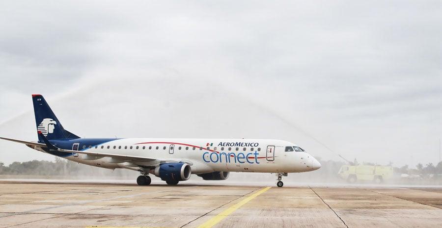 Mexico Belize Direct Flights via Aeromexico