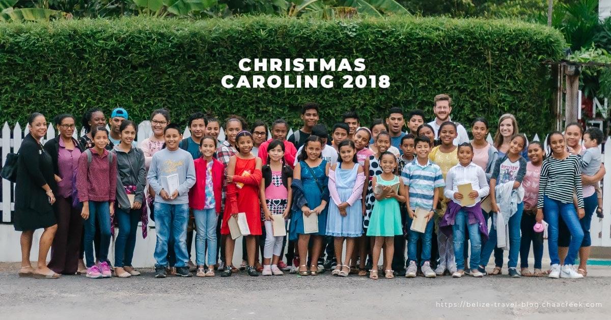 belize Christmas caroling 2018 header