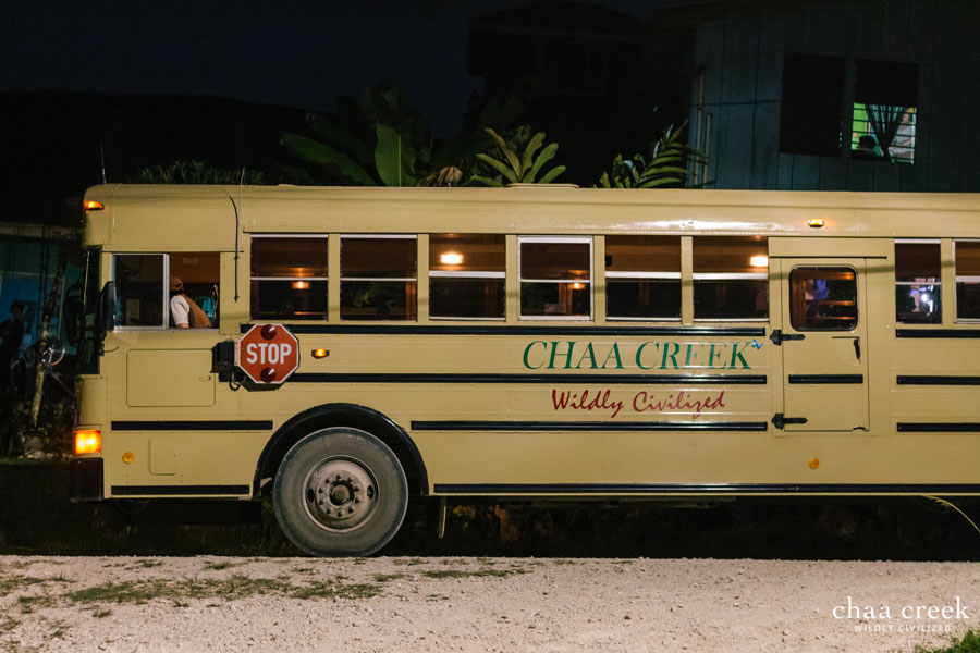 belize christmas caroling 2018 bus transportation