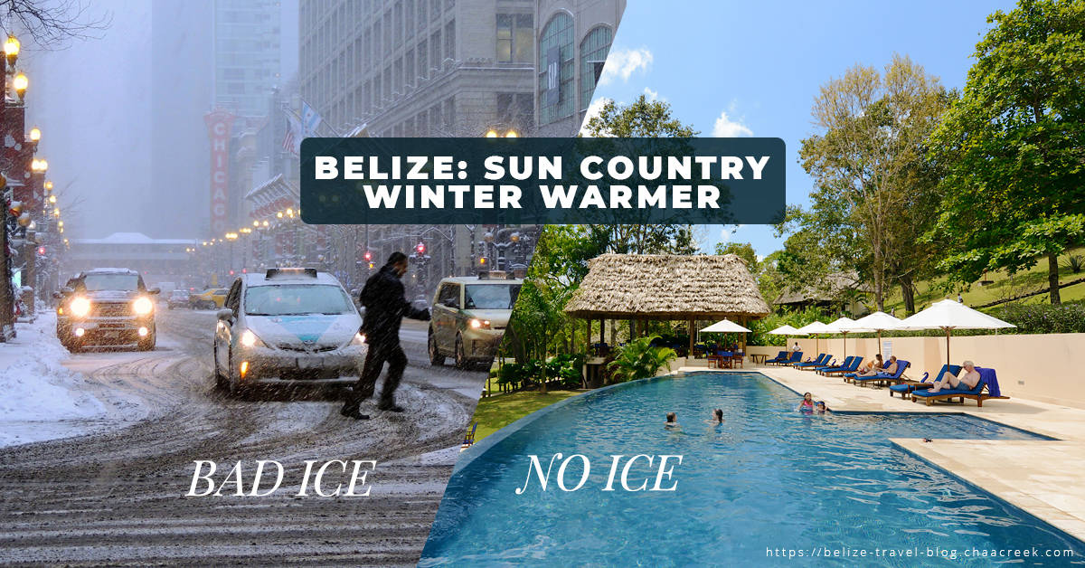 belize sun country winter warmer banner chaa creek