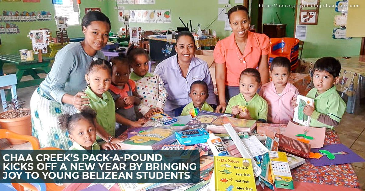 Chaa creek pack a pound Belize sustainable tourism January 2019