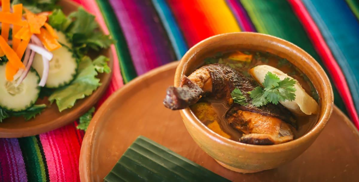 chaa creek kak'ik soup belize cooking classes