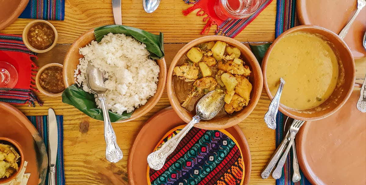 chaa creek open hearth belize cooking east indian dish